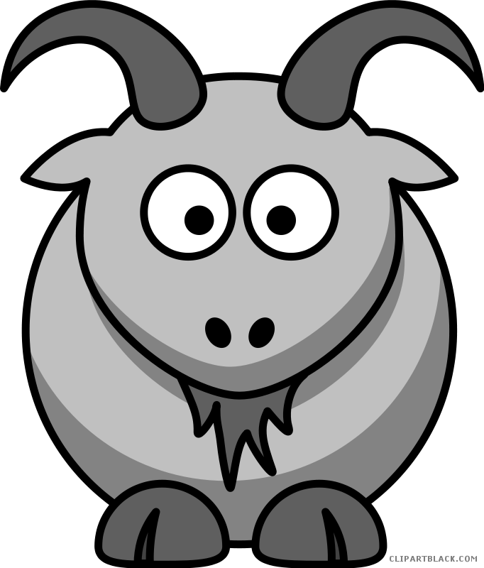 Goat clipart head. Page of clipartblack com