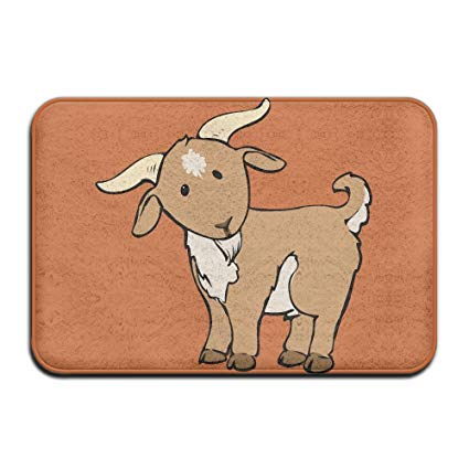 Funny indoor outdoor entrance. Goat clipart home
