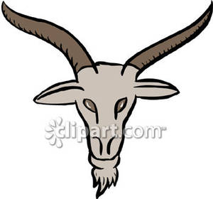 Head free download best. Goat clipart horns