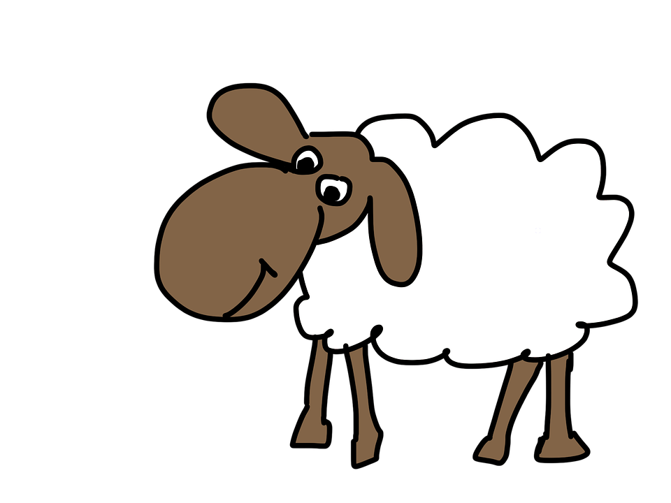 Lamb clipart two. Animated goats cliparts shop