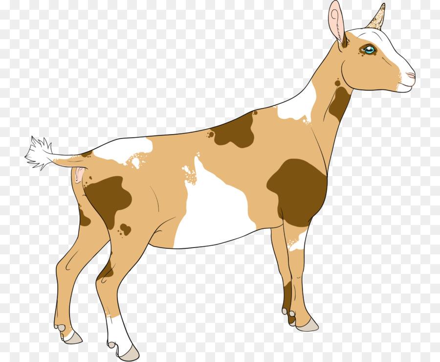 Cartoon deer transparent clip. Goat clipart kiko goat