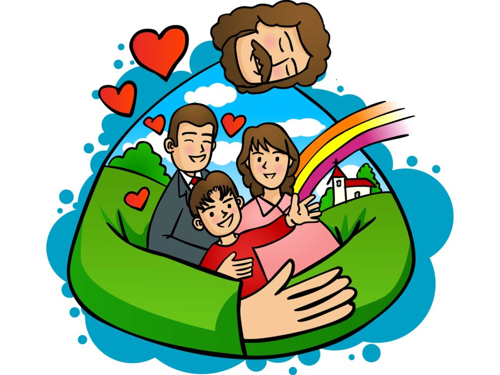 God clipart. Family of