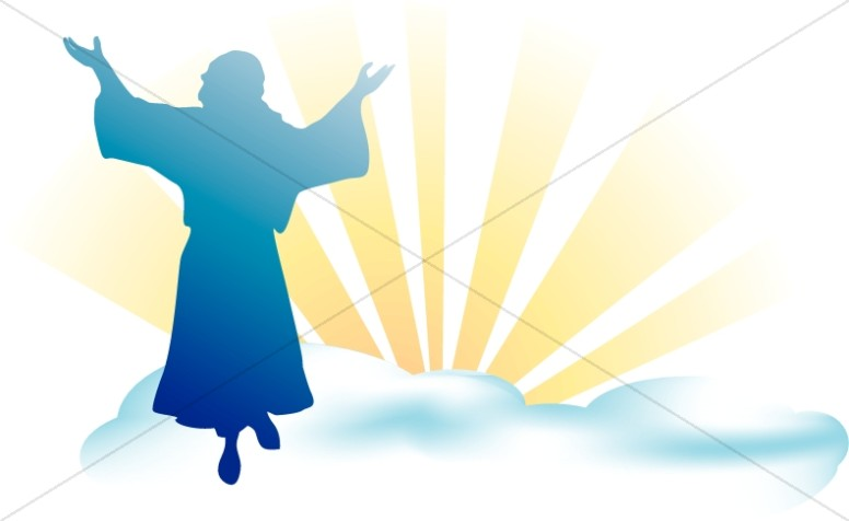 Of jesus day . Heaven clipart ascension lord