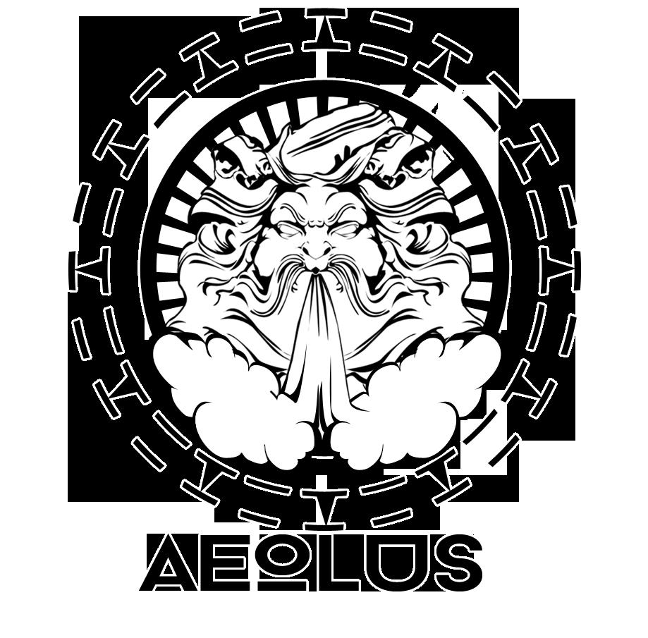 Aeolus the greek god. Windy clipart north wind
