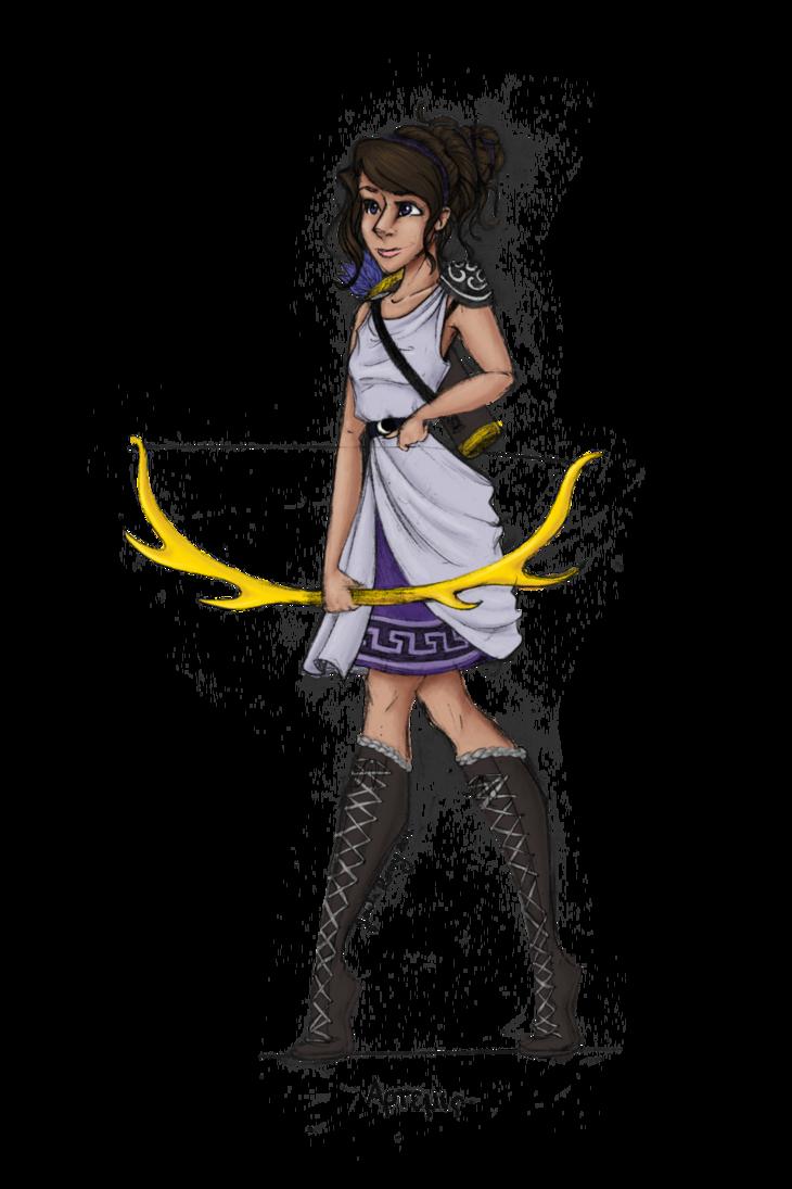 God clipart gaea. Greek goddess artemis by