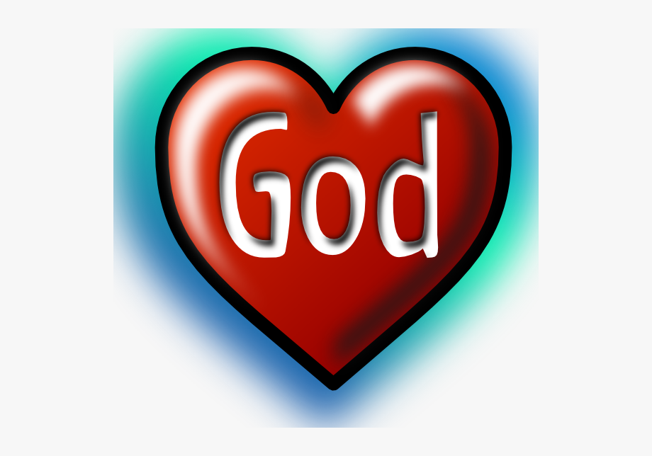 In the free cliparts. God clipart heart