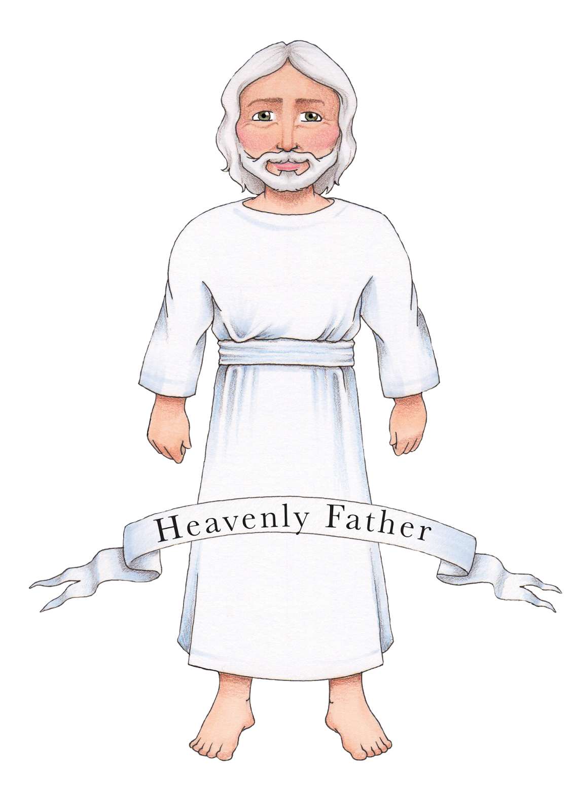 From all the input. Lds clipart heavenly father