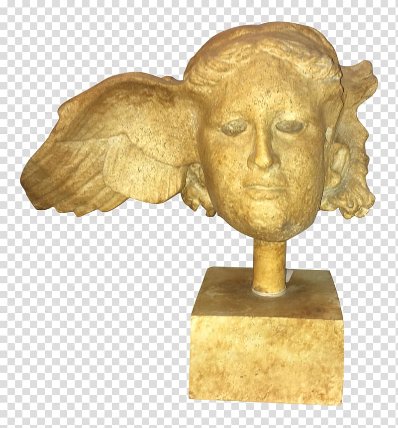 Bronze head of from. God clipart hypnos