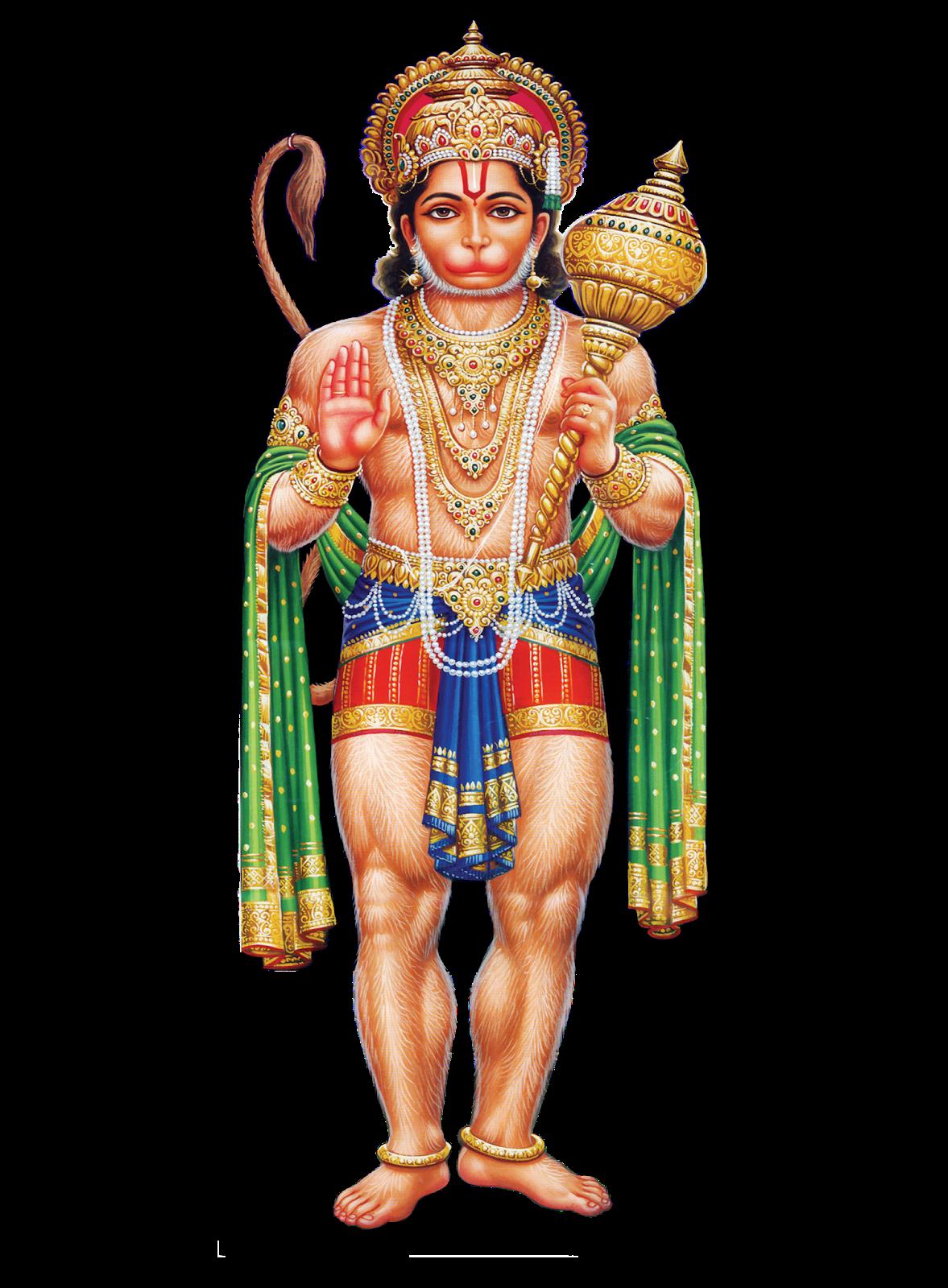 Hanuman transparent png mart. God clipart murugan