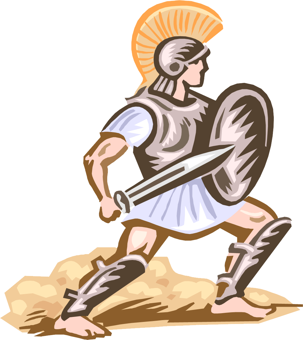 Armor of god armour. Warrior clipart old soldier