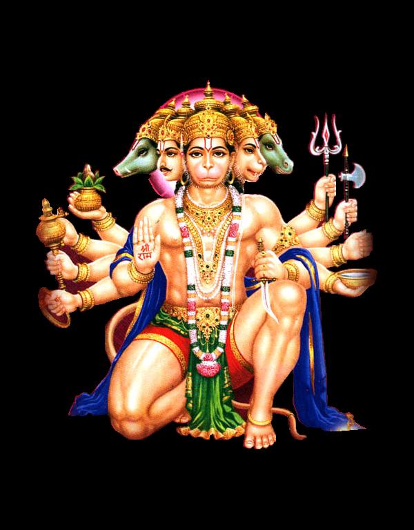Hanuman png transparent images. God clipart saraswati