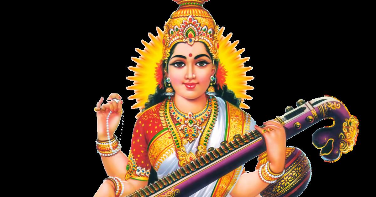 Goddess png transparent images. God clipart saraswati