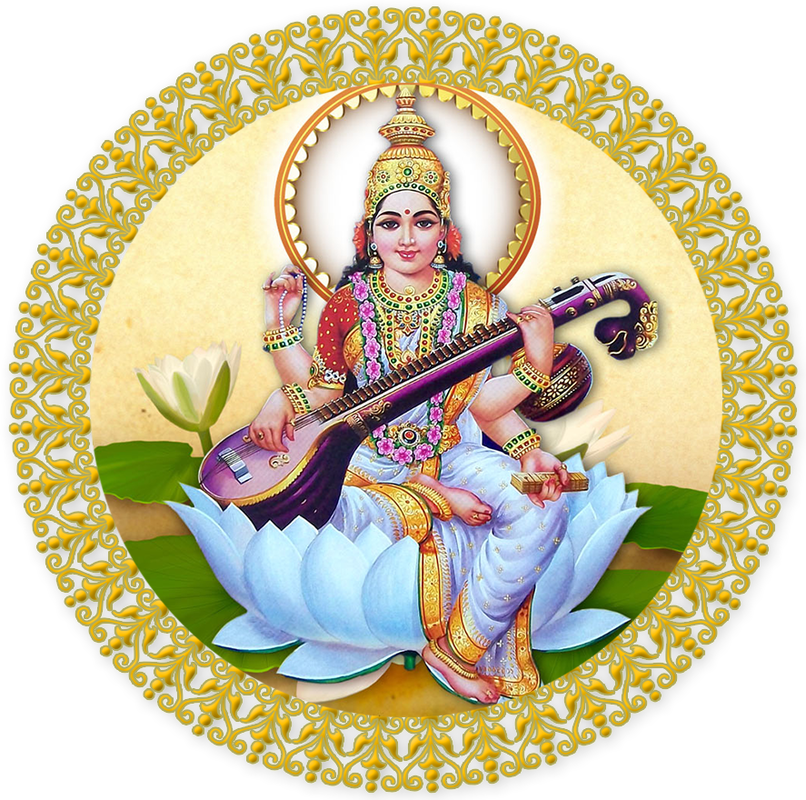 God clipart saraswati. Png transparent images wordzz