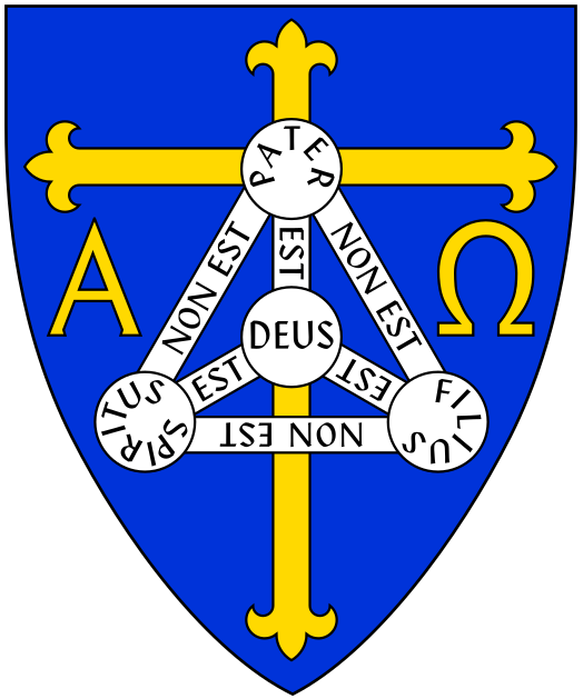 Of the trinity wikiwand. God clipart shield