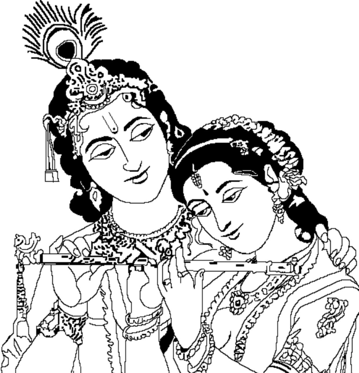 God clipart wedding. Gods radha krishna india