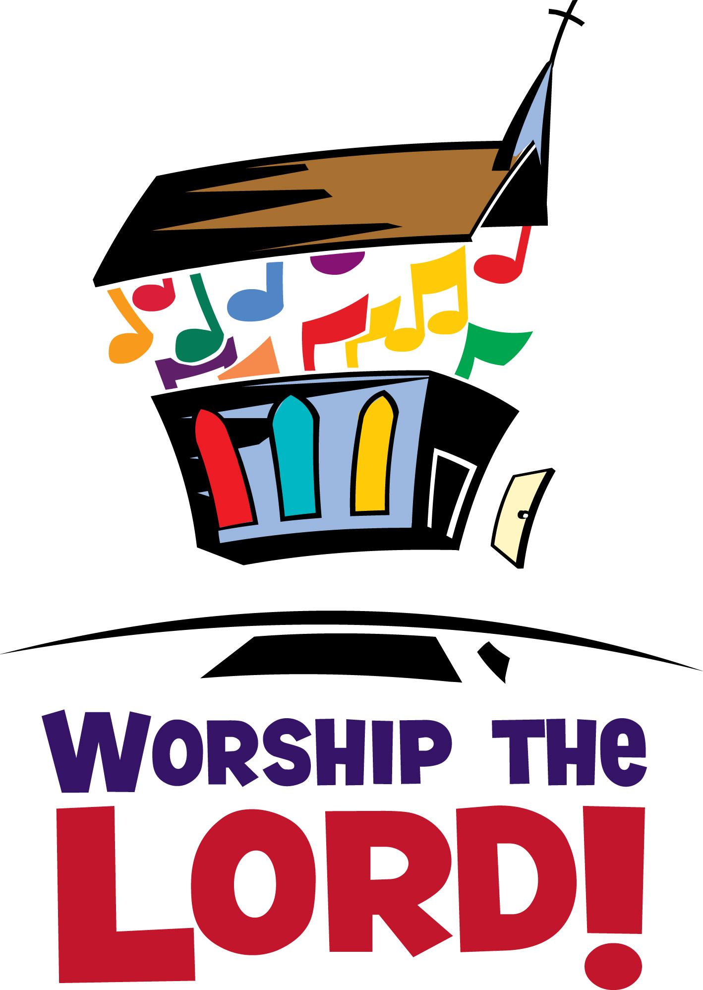 god clipart worshiping