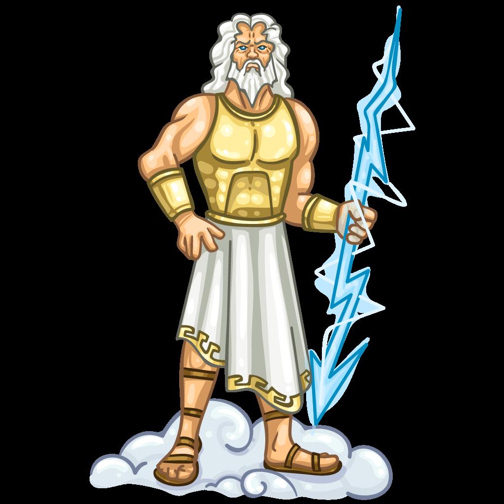 Greek clipart logo. Zeus god presentation name