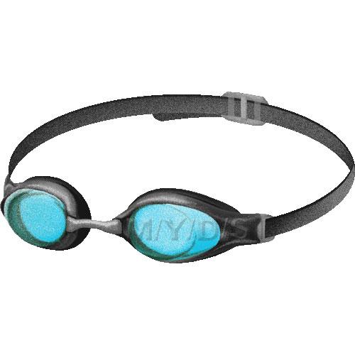 Swim panda free images. Goggles clipart