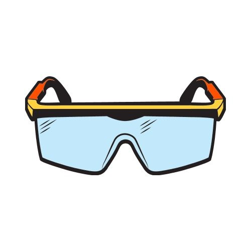 Safety c clip art. Goggles clipart