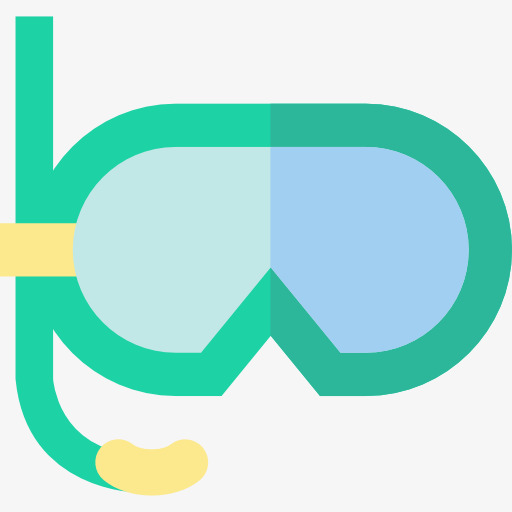 Goggles clipart. Glasses swimming cartoon png