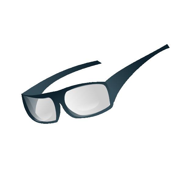 Clip art at clker. Goggles clipart
