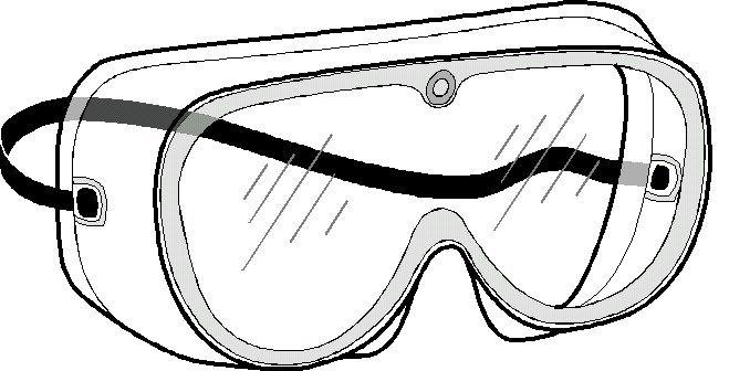 Free . Goggles clipart