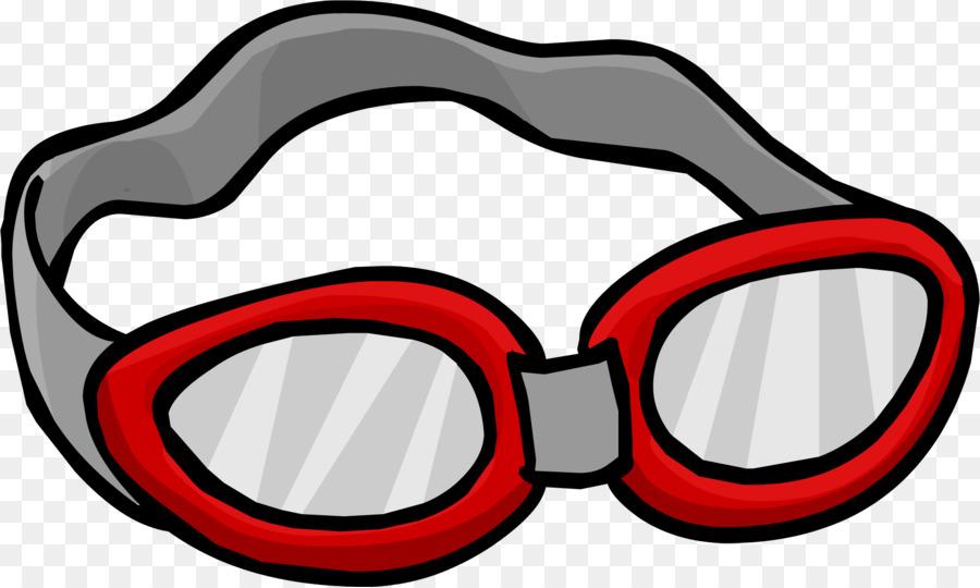 Swimming free content clip. Goggles clipart