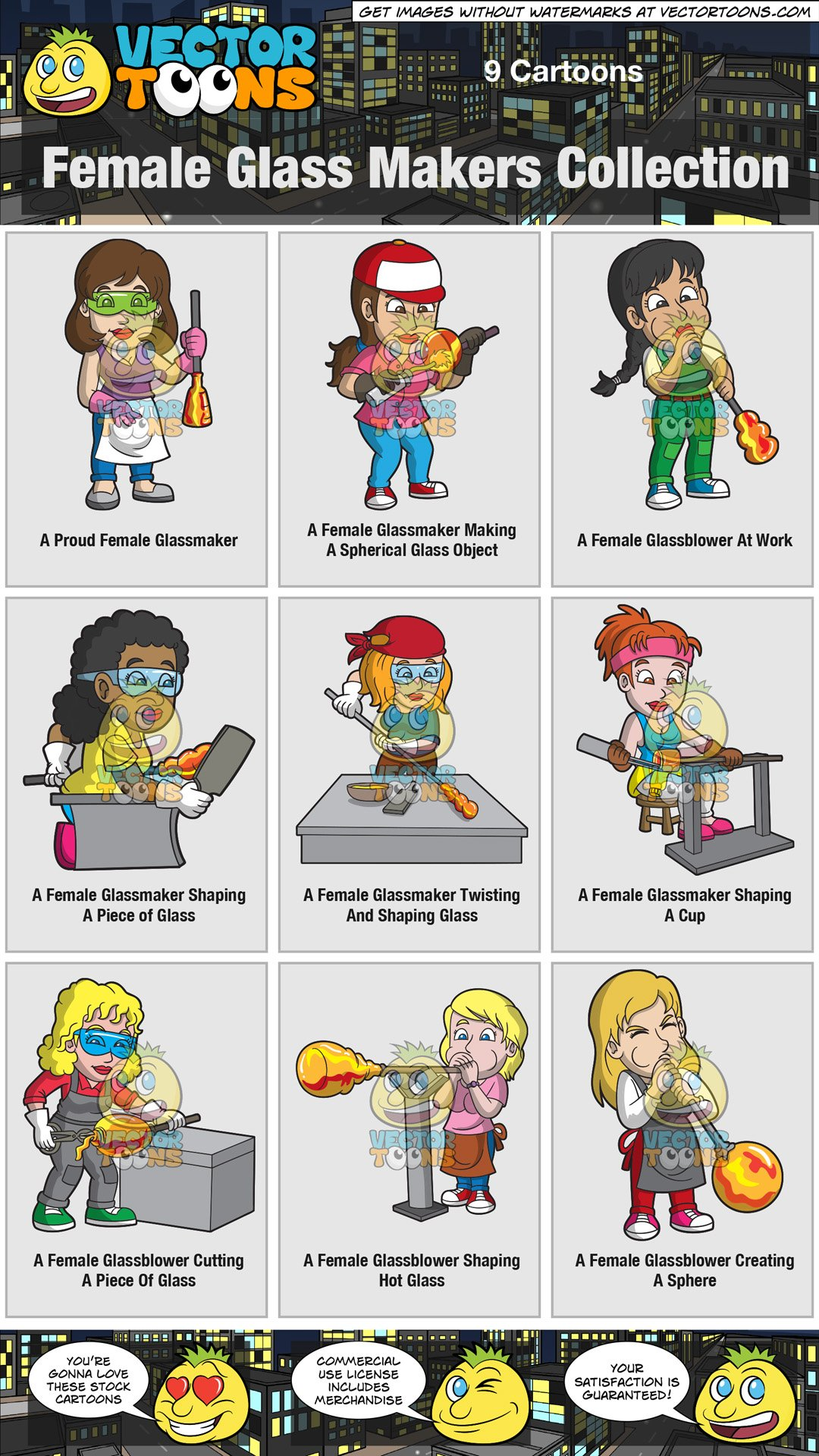 Goggles clipart female glass. Makers collection