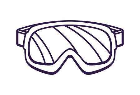 Science making the web. Goggles clipart lab