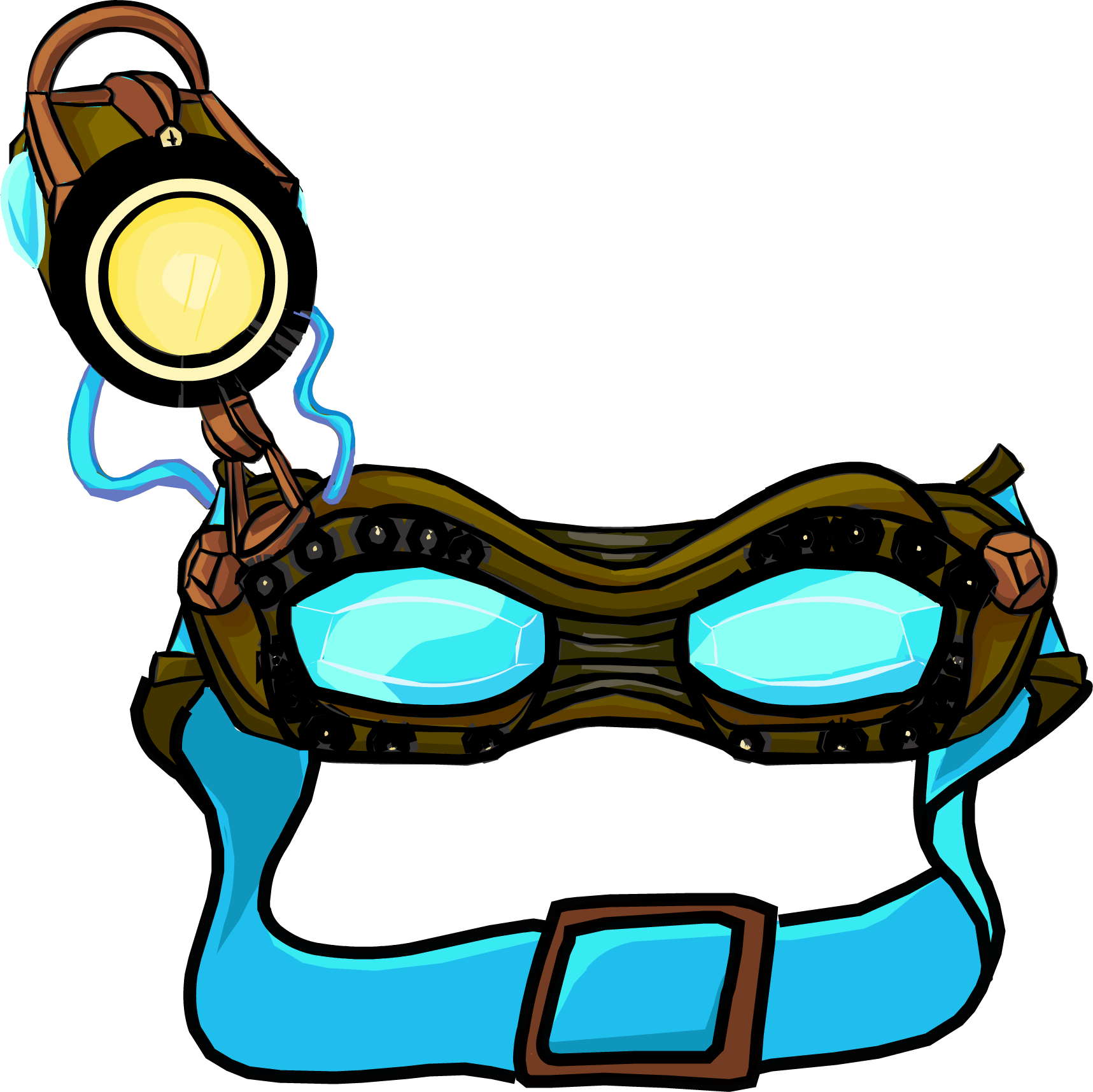 Goggles clipart lab. Ghost club penguin wiki
