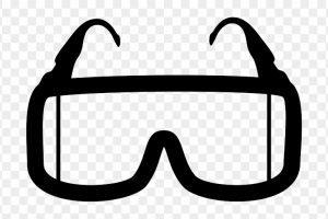 Portal . Goggles clipart lab