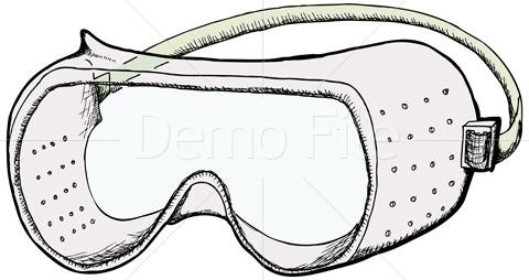 Scientist glasses cliparts zone. Goggles clipart scientific