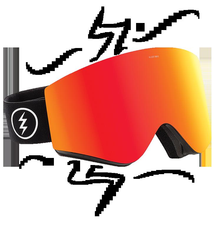 Skiing clipart ski goggles. Gear spotlight electric egx