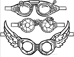 Steampunk clipart goggle. Image result for goggles