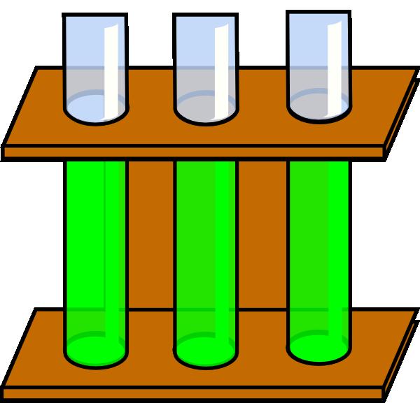green clipart test tube