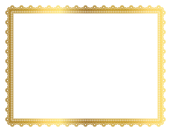 gold border png