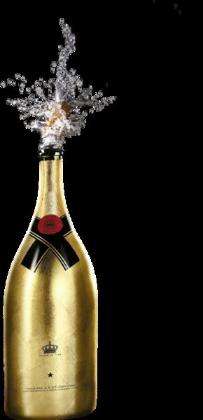 Gold bottle png. Splash psd official psds