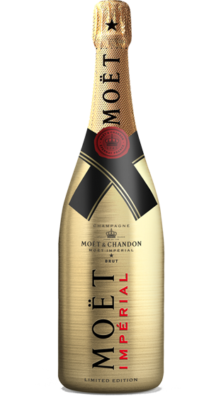 Moet and chandon imperial. Gold champagne bottle png