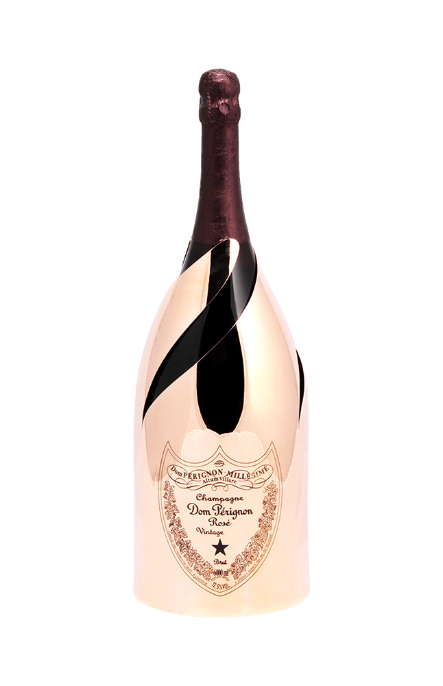 Gold champagne bottle png. Dom p rignon ros