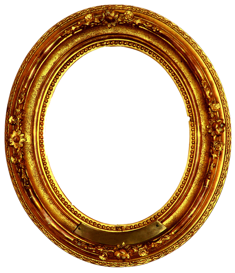 Golden decorative by r. Gold circle frame png