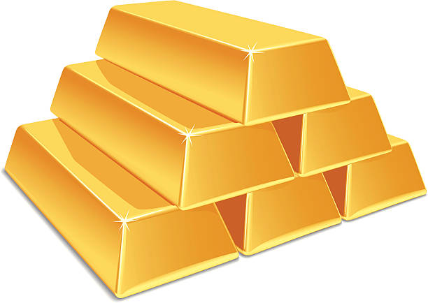 Gold clipart.  collection of bar
