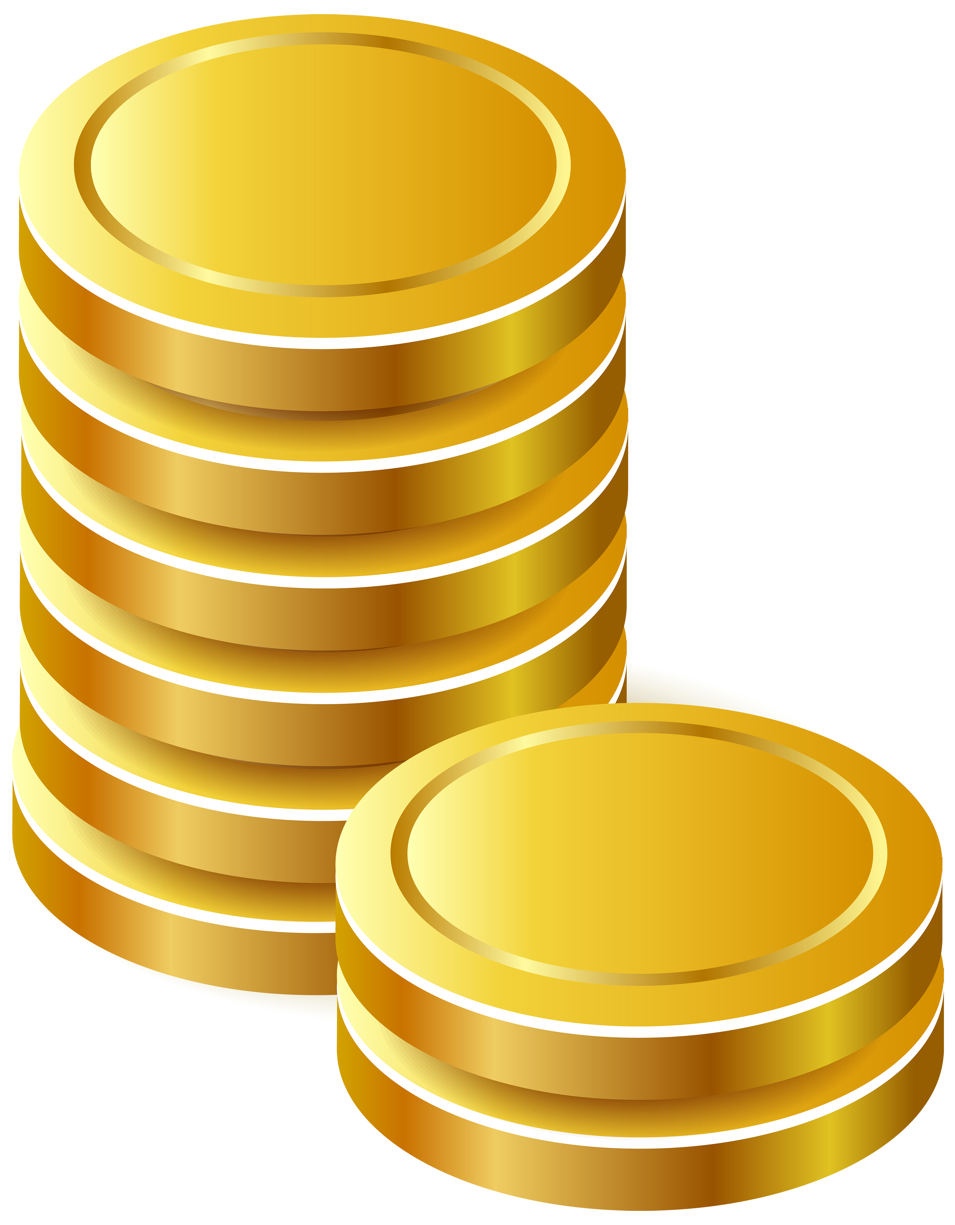 Coins clipart. Gold png best web
