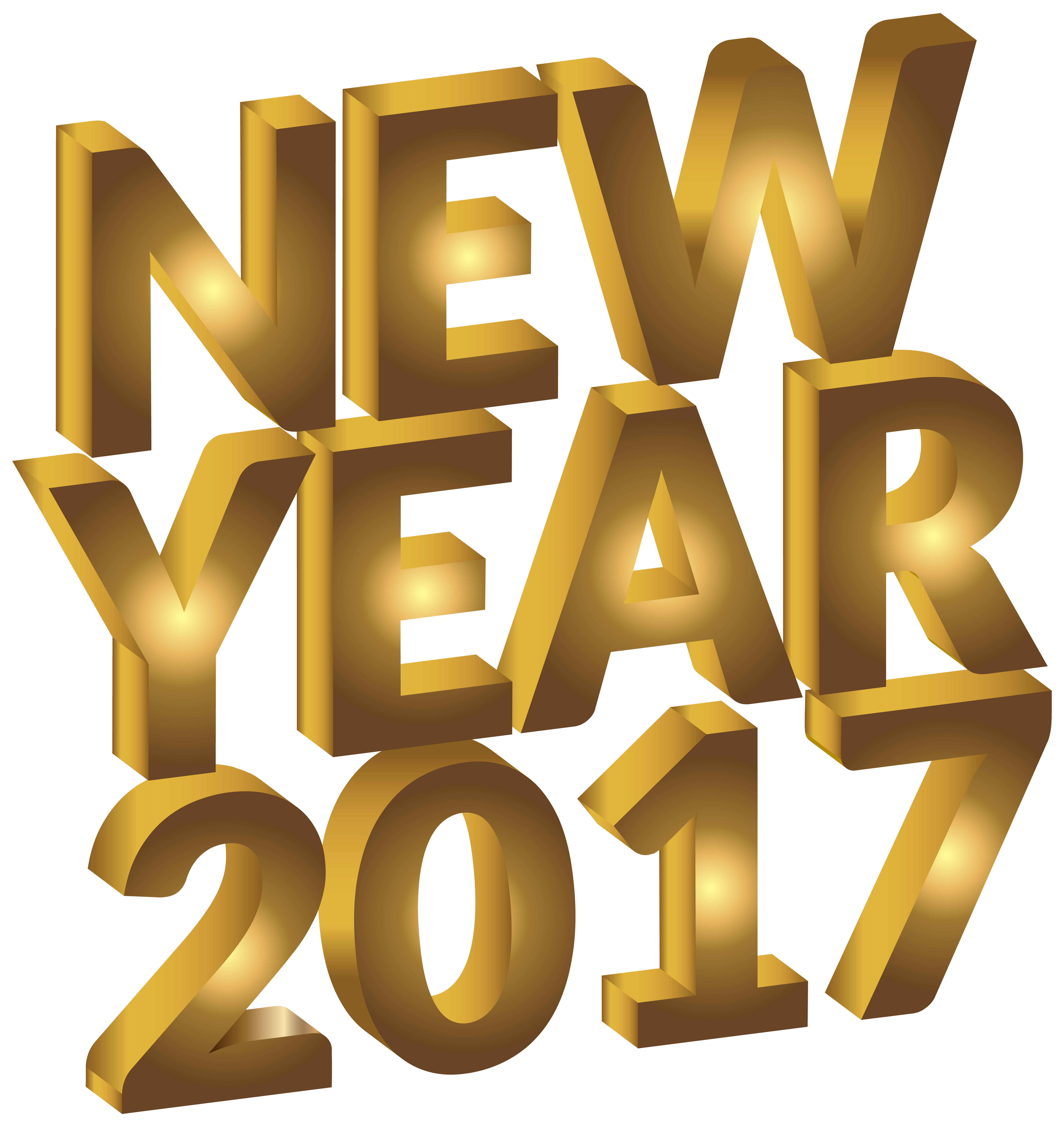 New year png clip. Gold clipart abundance
