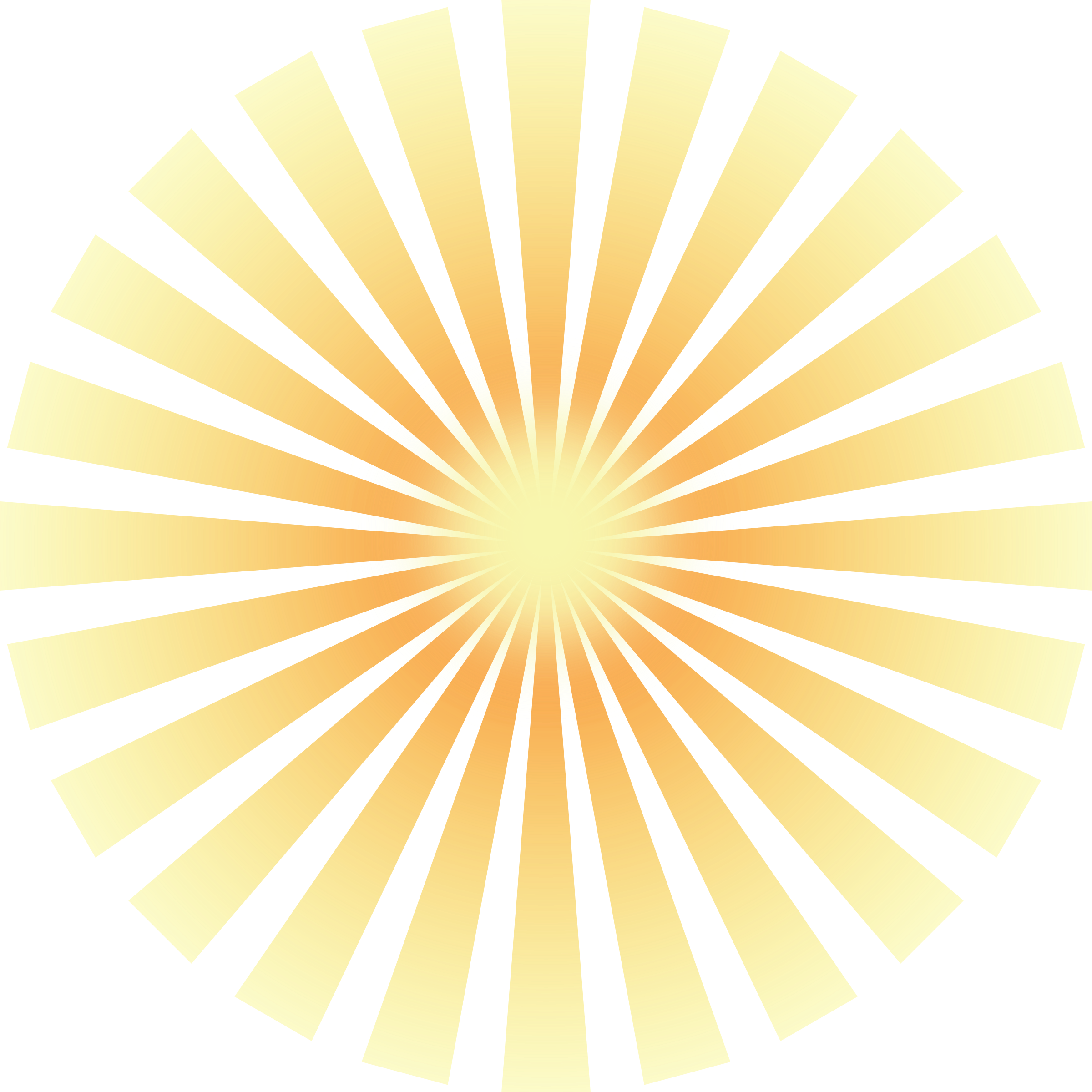 Gold clipart animated. Golden solar rays big