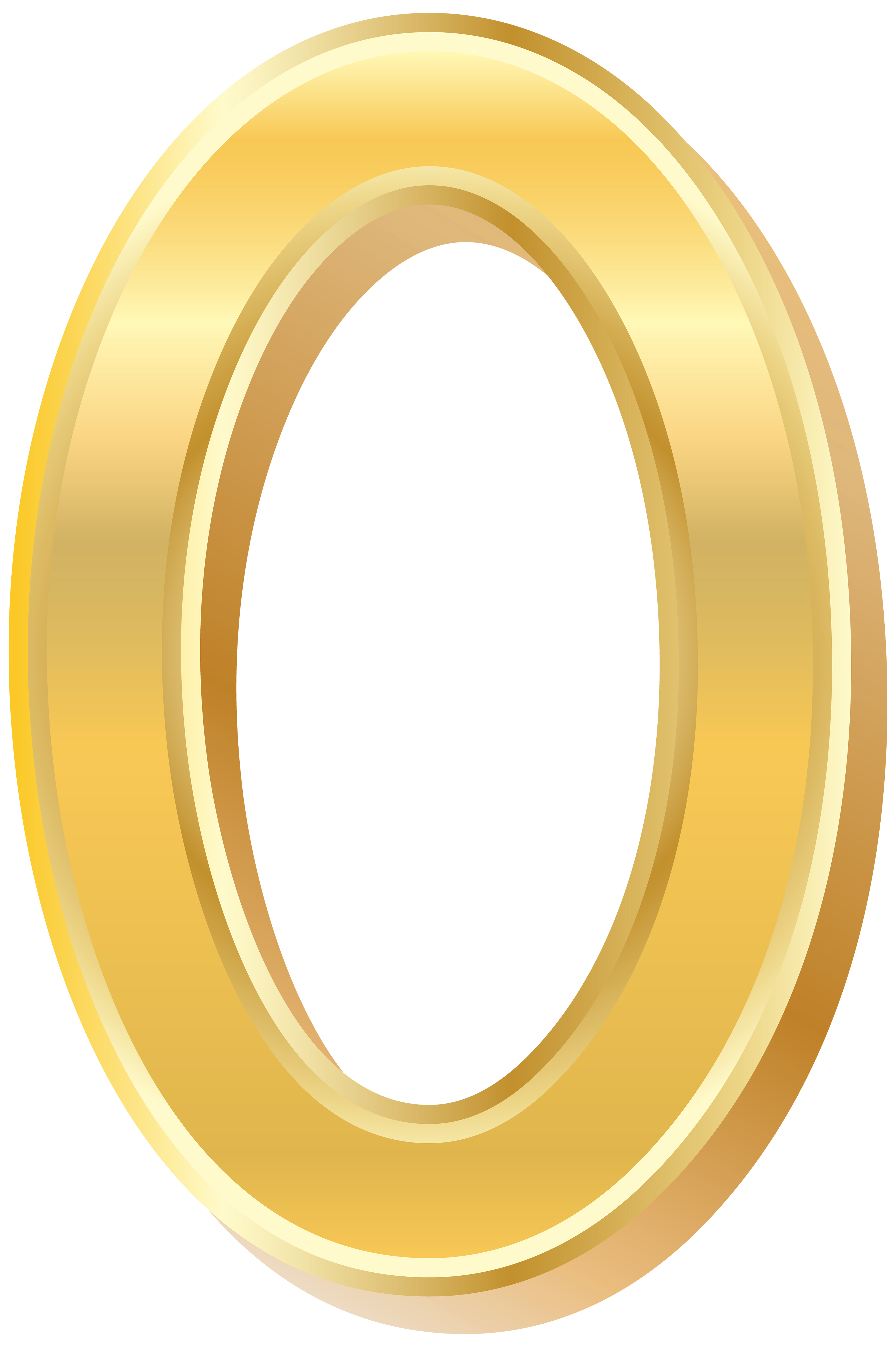 Gold clipart clip art. Style number zero png