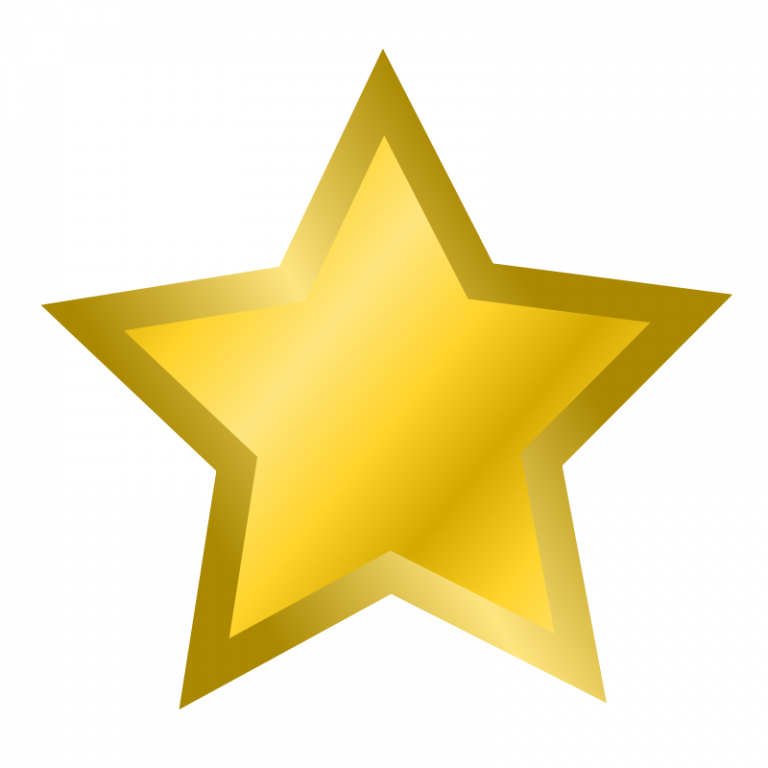 Star free pictures clipartix. Gold clipart cute