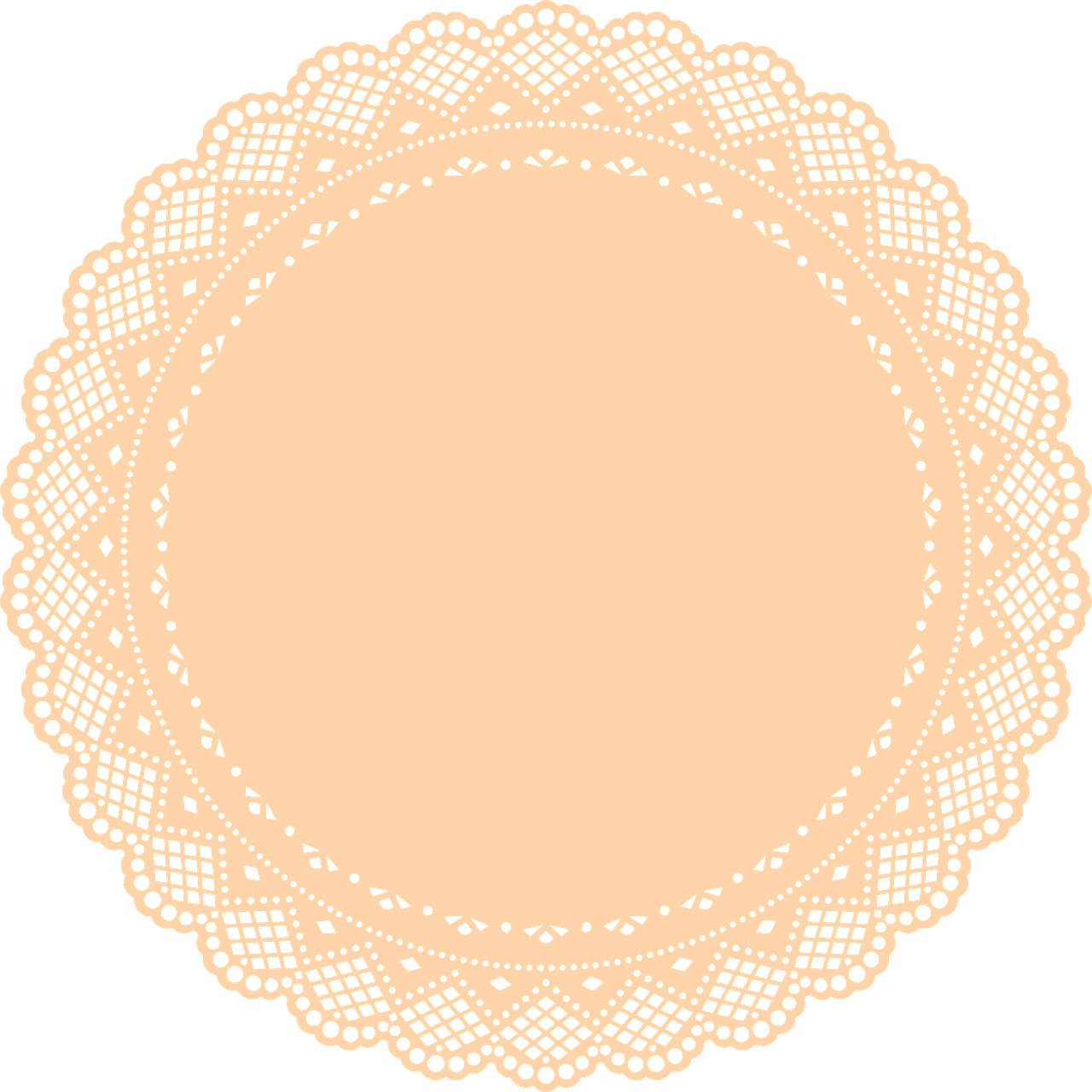 Gold clipart doily. Free image on pixabay