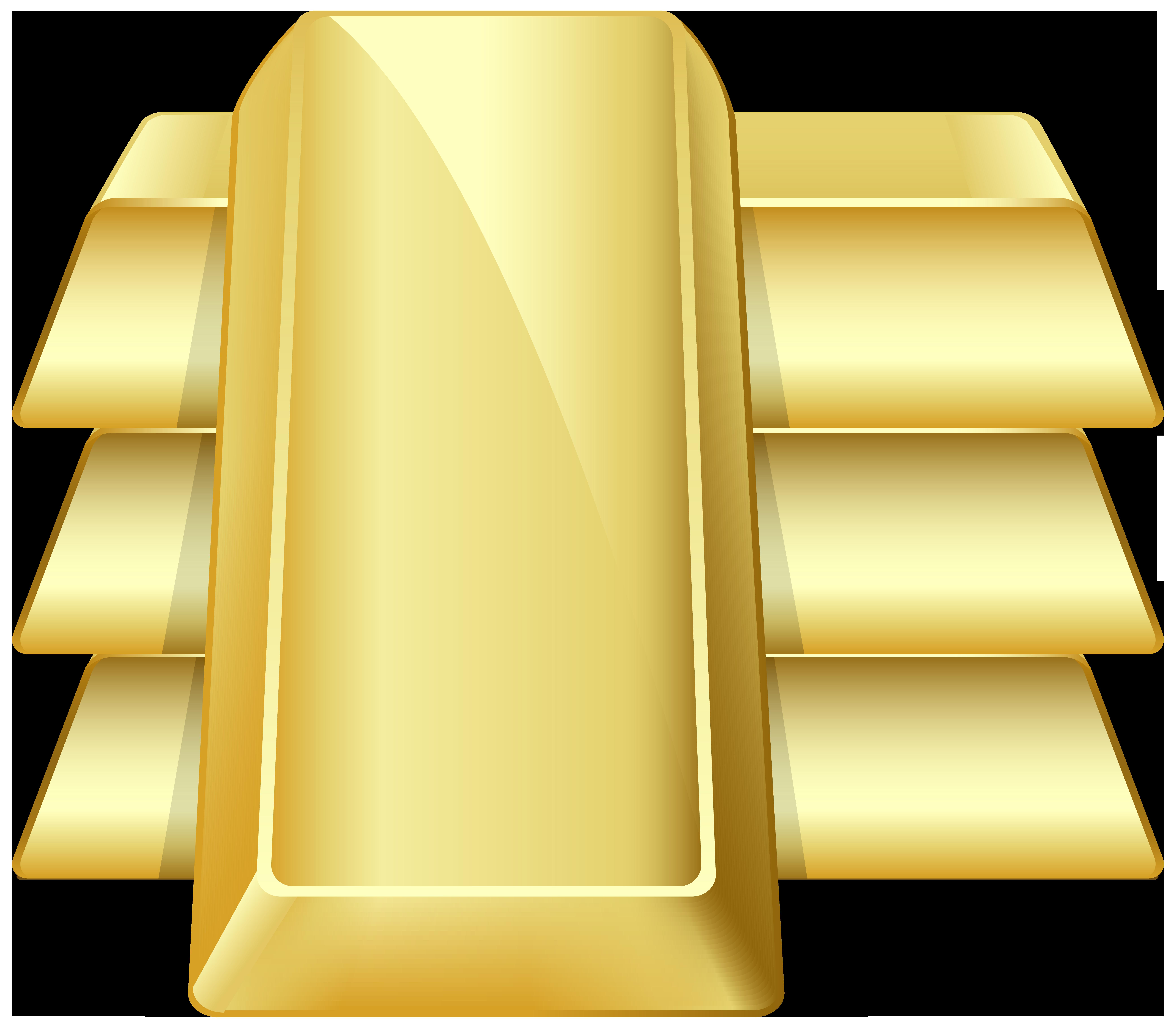 Gold bars png clip. Bar clipart transparent