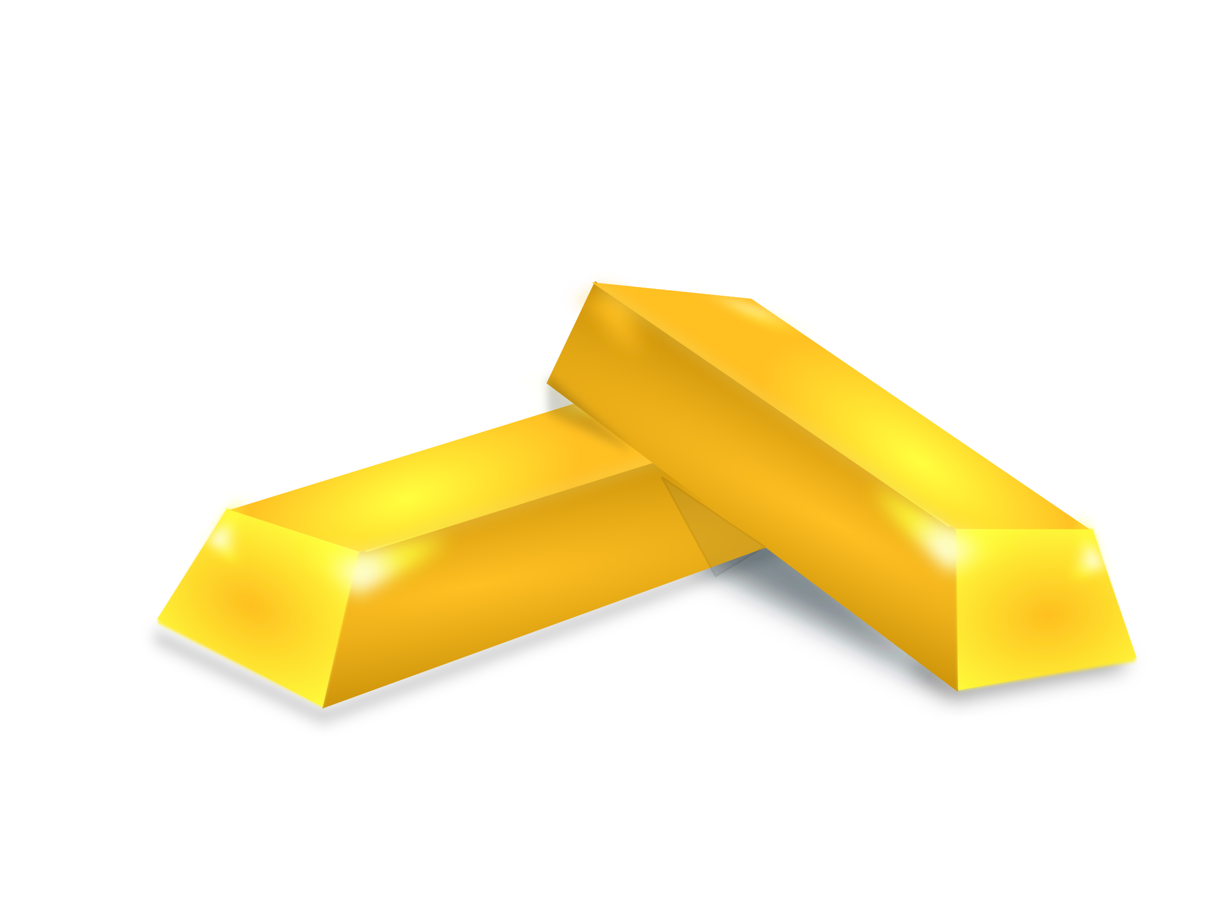 Gold clipart gold brick. Big image png
