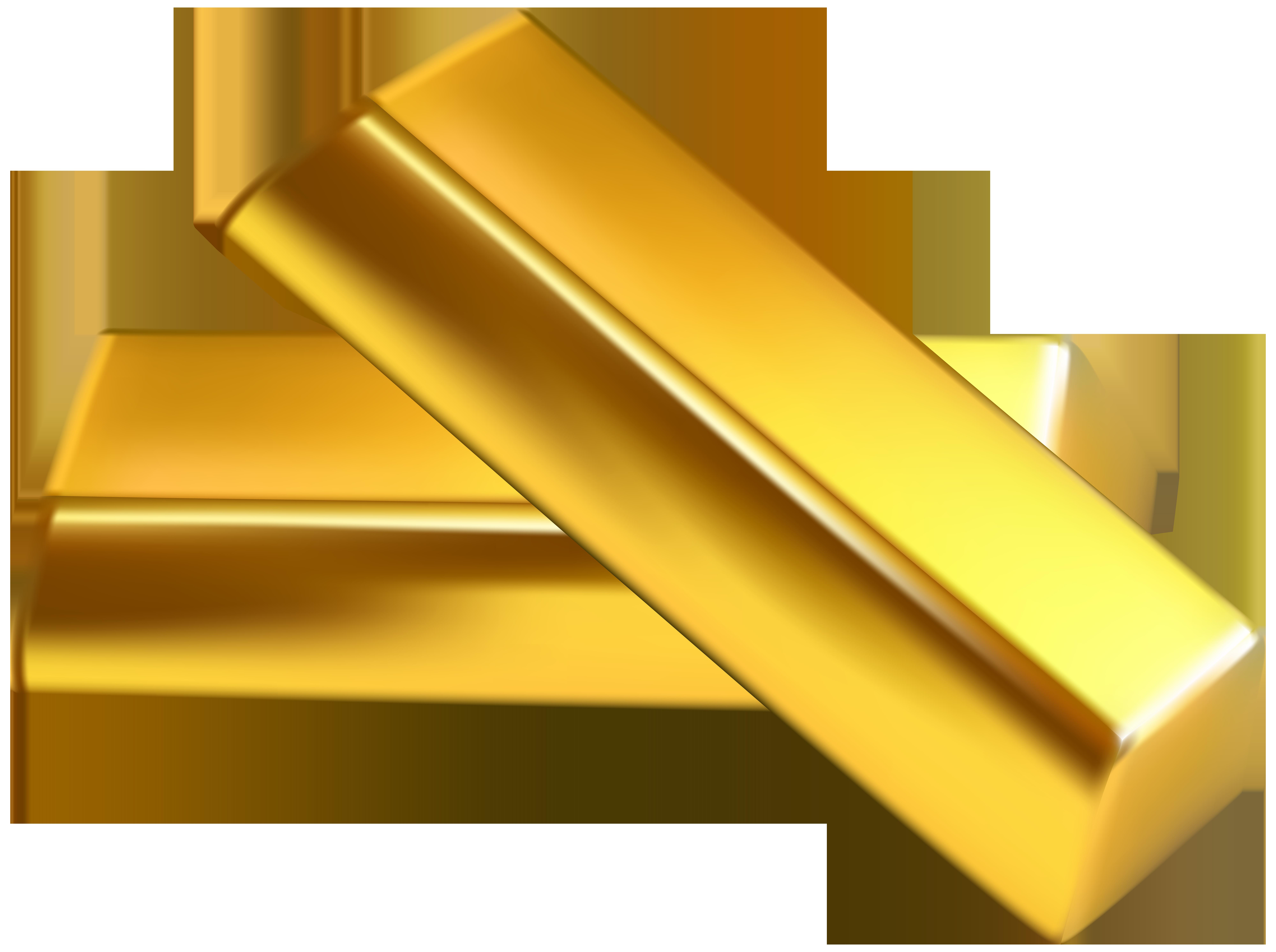Transparent png clip art. Gold clipart gold bullion
